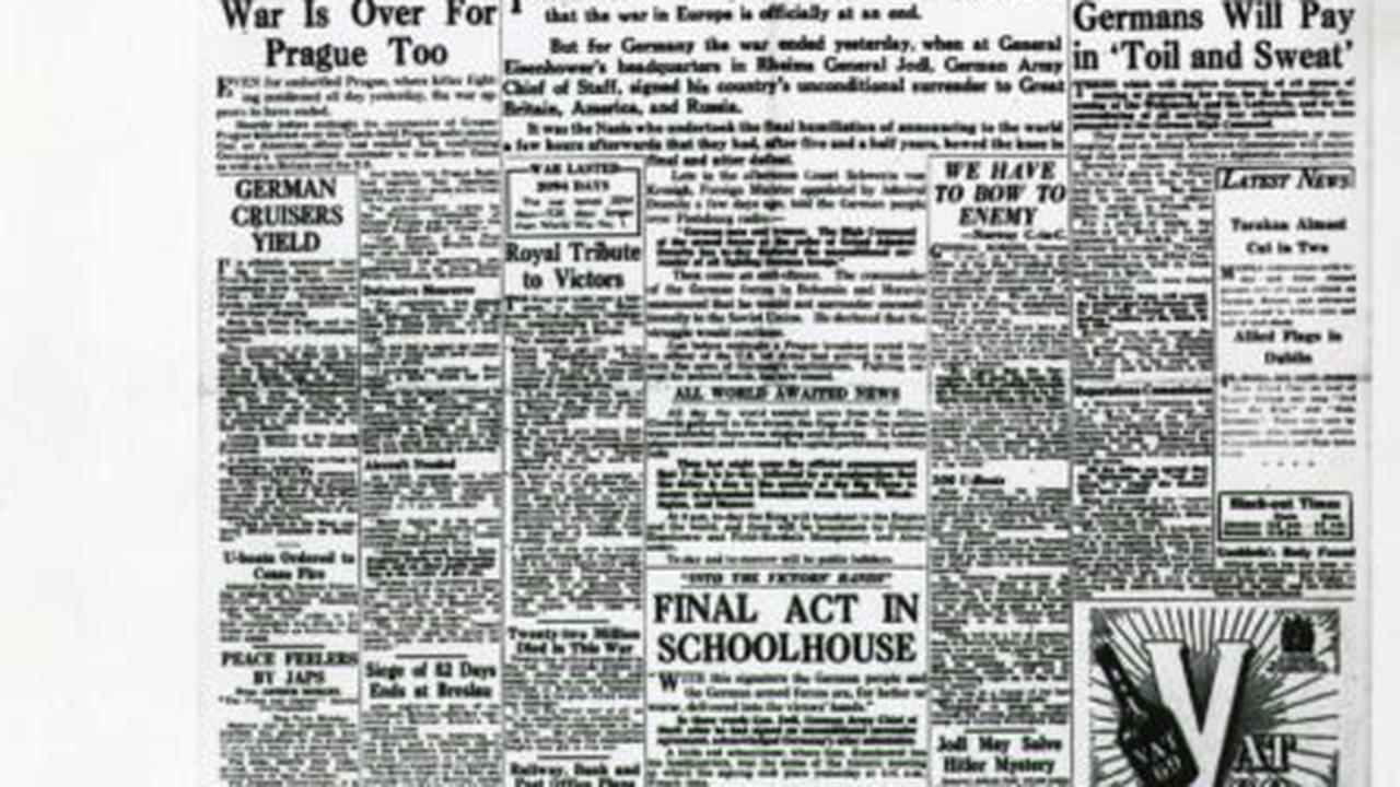 VE Day: Celebrations and reflection as Churchill signals end to war in Europe