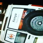 Drunk Kenya Redcross Driver Crashes Ambulance While Ferrying Patients To Hospital In Kabarnet