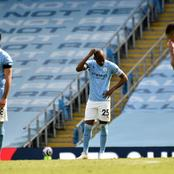 Man City loses 1-2 to 10-Man Leeds United In The Premiere League.