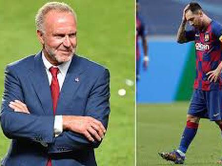 This salary situation needs to be changed - Bayern CEO aims dig at Leo Messi's contract with Barca