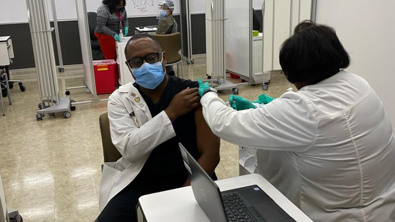 PVAMU alumnus becomes first to receive COVID-19 vaccine at Houston's DeBakey VA Medical Center