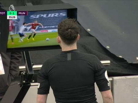 Why Manchester United's Goal Was Ruled Out
