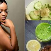 Mix Banana & Cucumber Together, Then Drink It On An Empty Stomach Every Morning. See The Benefits