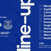 Confirmed Chelsea starting XI against Everton