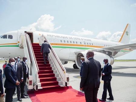Le président Alassane Ouattara part pour un séjour en France