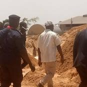 Jos South Local Government Chairman visits mining site where eight miners were killed Friday night