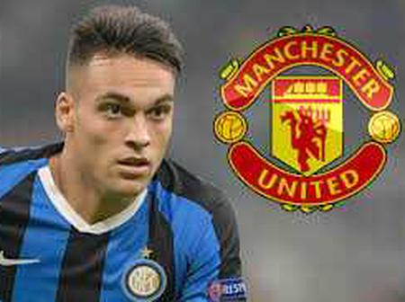 Manchester United set to complete a deal for Serie A player Lautaro Martinez next summer.