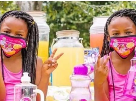 7-year-Old Twins Overcome Criticisms By Owning A Lemonade Business