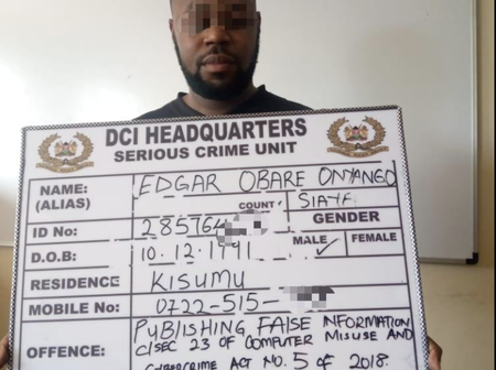 Edgar Obare Arrested: How Blogger Allegedly Tried To Use A Woman To Blackmail Governor - DCI