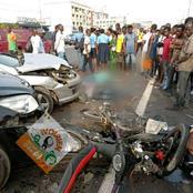Violent accident à l'instant au grand carrefour de Marcory, plusieurs victimes enregistrées