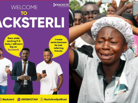 Just Like MMM, We Have Been Scammed Again- Nigerians Cries Out As Racksterli Reportedly Crashed