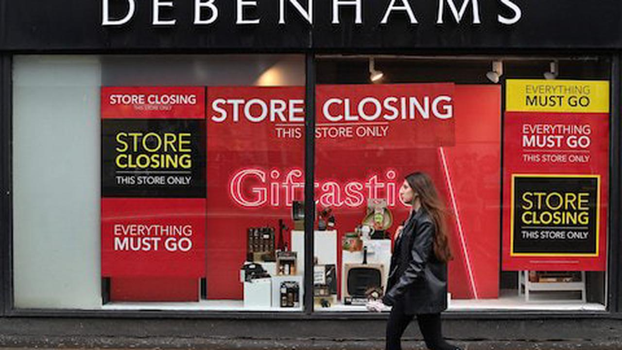 Debenhams stores to reopen for closing-down clearance sale