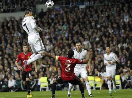 Cristiano Ronaldo's top 5 highest leaps