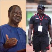 Raila Odinga Meets Ailing Benjamin Ayimba's Family