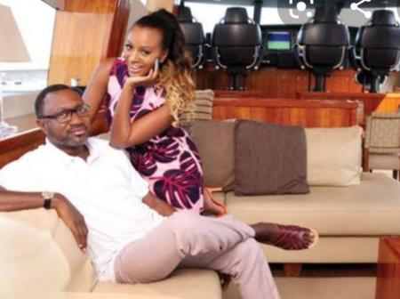 See beautiful pictures of billionaire Otedola that will challenge you to work harder to get rich