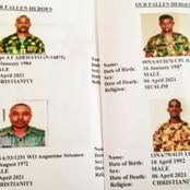 Photos Of 12 Soldiers Killed In Konshisha