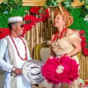Man Excited After Marrying His Primary School Class Captain (See Photos)