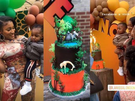 Davido's Alleged 4th Babymama Celebrates Son's Birthday In Style