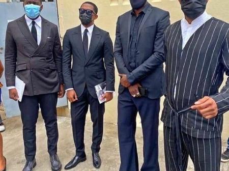 Cette photo de Samuel Eto'o, Emmanuel Adebayor et Fally Ipupa, suscite l'appréciation de leurs fans