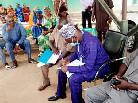 Mixed reactions after Commissioner for Poverty Alleviation resumes under a tree in Taraba