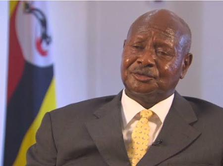 President Museveni In Mourning