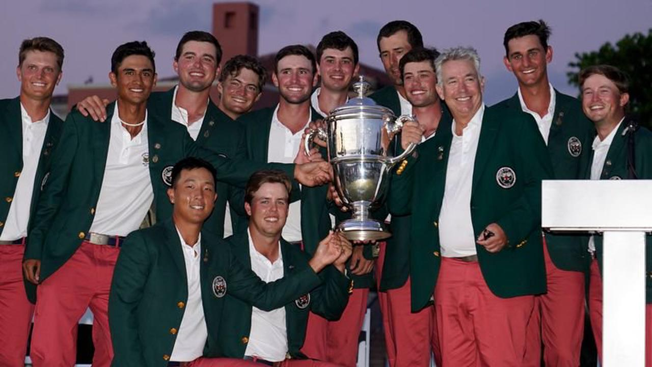 Walker Cup: Team USA hold off GB & Ire fightback to claim 14-12 victory at Seminole