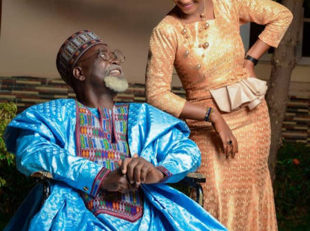 Stunning Pre-Wedding Pictures Of Hausa Actor, Alhaji Badamasi And Amina Shuaibu