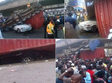 Two People Pronounced Dead After A Trailer Lost Control In A Flyover
