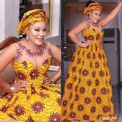 Ankara maxi designs for sophisticated ladies