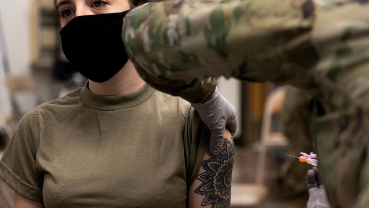 US Begins Coronavirus Vaccinations For Troops In South Korea