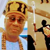 Few Months After His 'Opa Ase' Was Stolen, See The Amount Of Money Oba Akiolu Said The Hoodlums Took