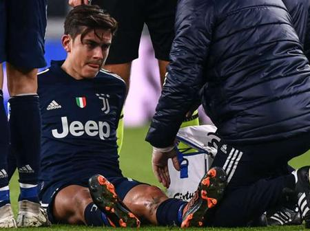 Dybala doesn't need surgery on knee injury but Pirlo unsure when Juventus star will return