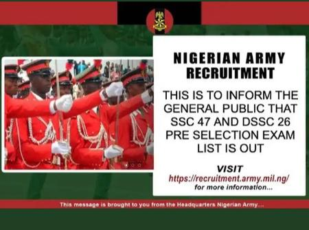 This Is Bad: Nigerians Blast The Nigerian Army, After They Announced Recruitment Of New Officers.
