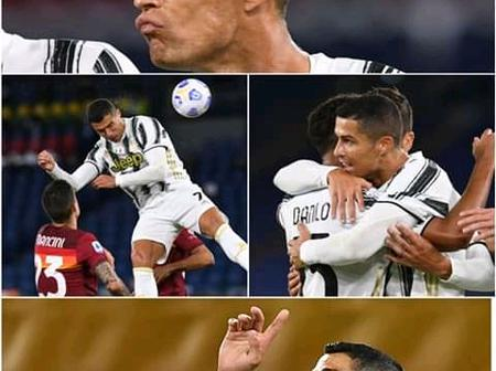 5 Times Cristiano Ronaldo Showed Us He's Just Too Good At Lifting Himself To Score Headers - PHOTOS.