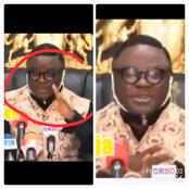 Governor Of Cross River Allegedly Sheds Tears During His Speech, See The Reason Why Cried