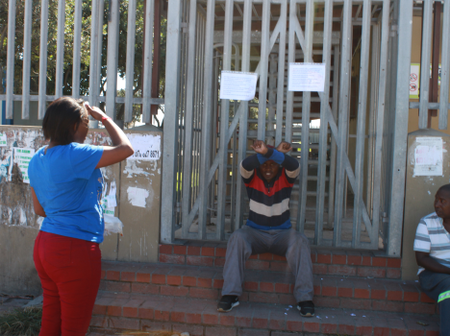 In Cape Town this happened at clinic after robbery. Check here