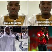 VIDEO: Manchester Player, Paul Pogba Sends Message to All Muslims Around The World