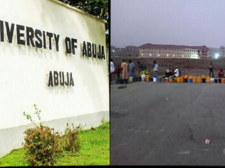Here is what's currently happening in the University of Abuja hostel