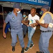 MORE THAN 350 PEOPLE ARE ARRESTED FOR BREAKING THE CURFEW RULES(gauteng)