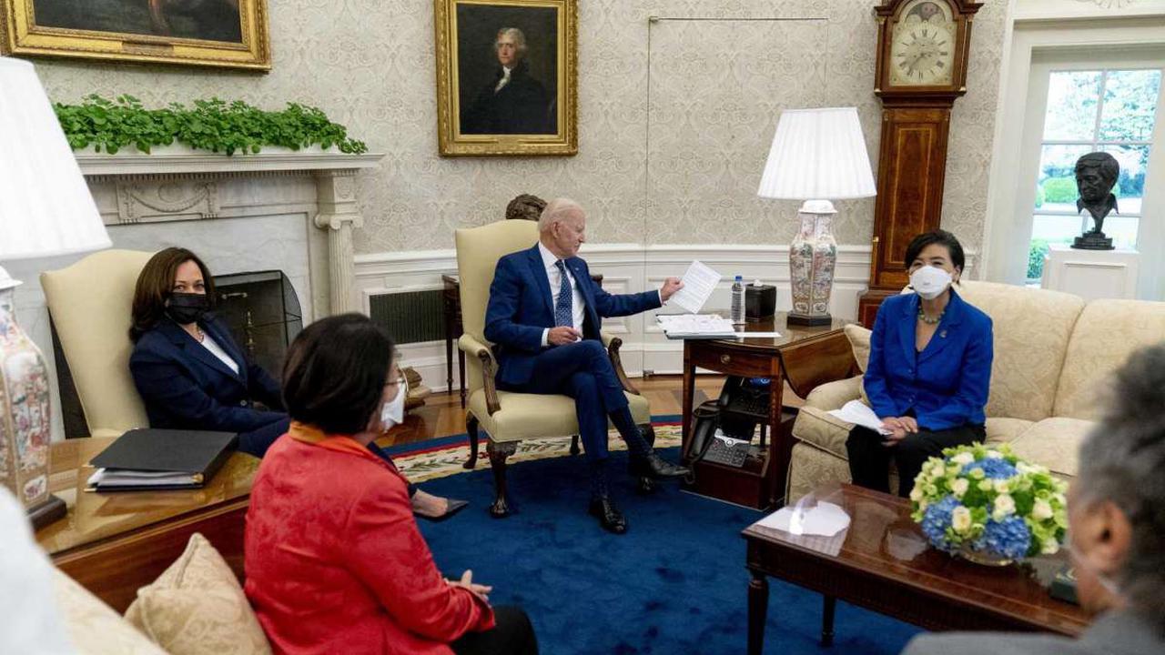 AP FACT CHECK: Biden hails record job growth, skips caveats
