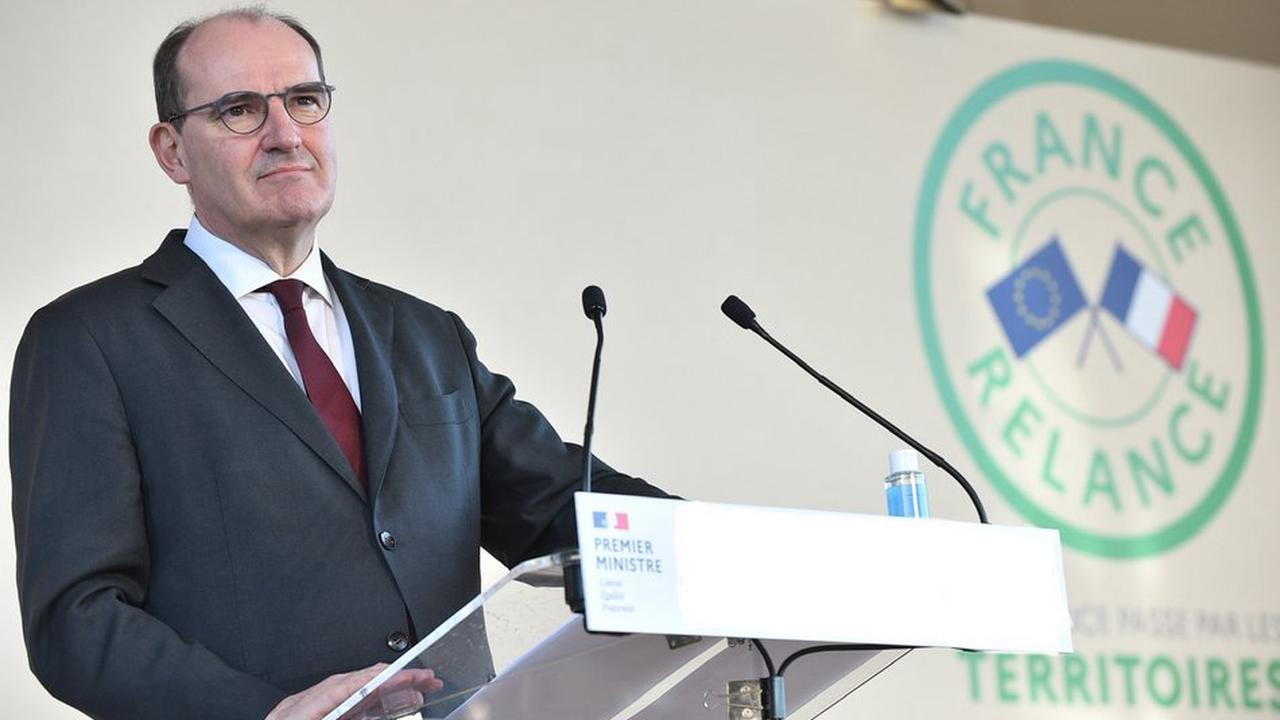 PARIS : Jean CASTEX, Premier ministre, à Marmande (Lot-et-Garonne), vendredi 5 février