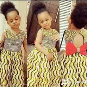 Ankara styles that will make your little angel look outstanding in any occasion.