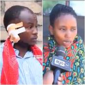 Bibi Ya Mtu Sumu! Man loses Both Ears after Being Caught With Another Man's Wife in The Bush -VIDEO