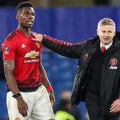 After Paul Pogba's goal, see what Ole Gunnar said about him.