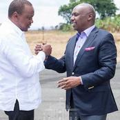 Declaration Made on KANU Party Leader Gideon Moi Being President Uhuru Kenyatta's Heir