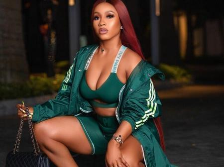 Check Out how Mercy Eke Flaunts Her Curves In Beyonce's Latest Ivy Park