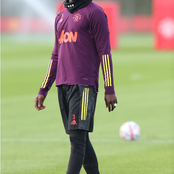 Check who is back to training for Man United ahead of Champions League game after a month of injury.