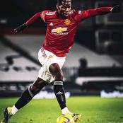 Paul Pogba Hailed Himself After They Won Fulham 2-1, Check Out What He Posted(Photos)