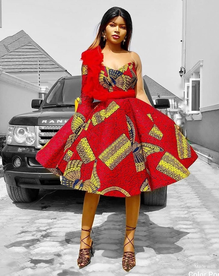 Ankara And Aso Ebi Styles