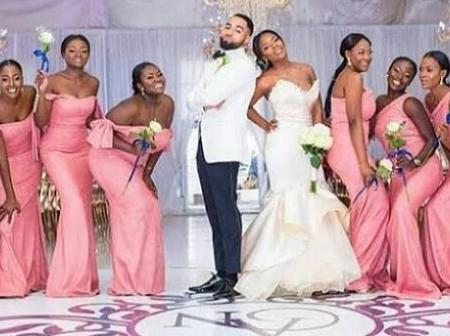 Ladies Checkout The Best Bridal Train Outfits For Your 2020 Festive Wedding